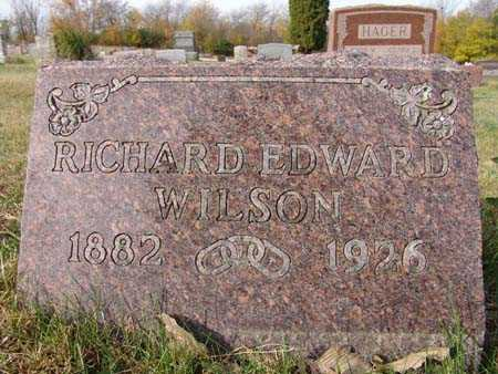WILSON, RICHARD EDWARD - Warren County, Iowa | RICHARD EDWARD WILSON
