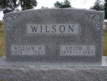 WILSON, EDITH B. - Warren County, Iowa | EDITH B. WILSON