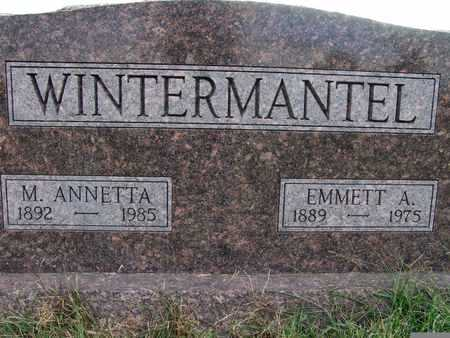 WINTERMANTEL, EMMETT A. - Warren County, Iowa | EMMETT A. WINTERMANTEL