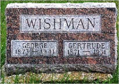 WISHMAN, GEORGE HENRY - Warren County, Iowa | GEORGE HENRY WISHMAN