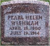 WISHMAN, HELEN PEARL - Warren County, Iowa | HELEN PEARL WISHMAN