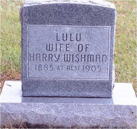 BISHOP WISHMAN, LULU - Warren County, Iowa | LULU BISHOP WISHMAN