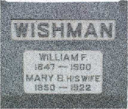 FISHER WISHMAN, MARY B. - Warren County, Iowa | MARY B. FISHER WISHMAN