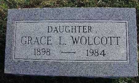 WOLCOTT, GRACE L. - Warren County, Iowa | GRACE L. WOLCOTT