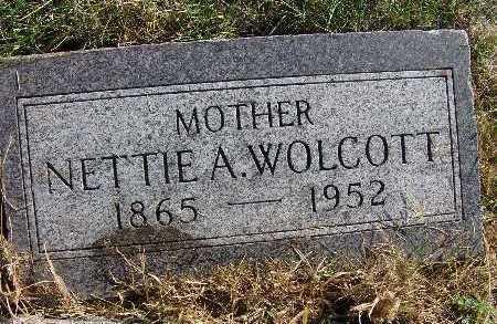 WOLCOTT, NETTIE A. - Warren County, Iowa   NETTIE A. WOLCOTT