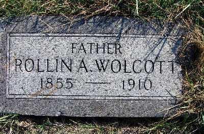 WOLCOTT, ROLLIN A. - Warren County, Iowa | ROLLIN A. WOLCOTT