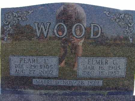 WOOD, ELMER G. - Warren County, Iowa | ELMER G. WOOD