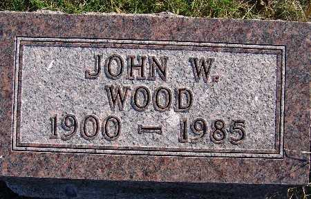WOOD, JOHN W. - Warren County, Iowa | JOHN W. WOOD