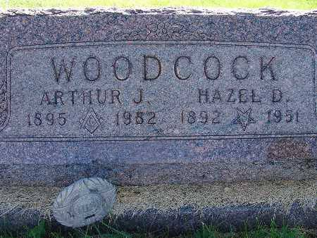 WOODCOCK, ARTHUR J. - Warren County, Iowa | ARTHUR J. WOODCOCK