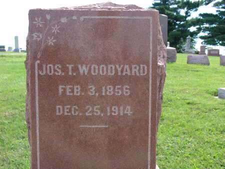 WOODYARD, JOS. T. - Warren County, Iowa | JOS. T. WOODYARD