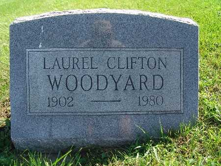 WOODYARD, LAUREL CLIFTON - Warren County, Iowa   LAUREL CLIFTON WOODYARD