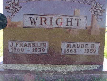 WRIGHT, J. FRANKLIN - Warren County, Iowa | J. FRANKLIN WRIGHT
