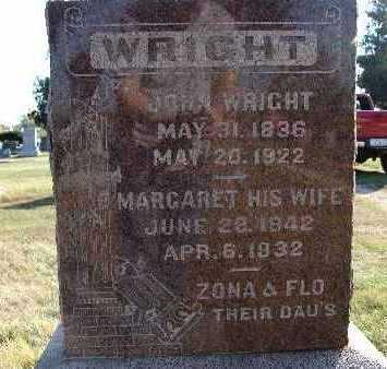 WRIGHT, MARGARET - Warren County, Iowa | MARGARET WRIGHT