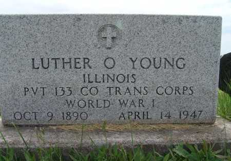 YOUNG, LUTHER O. - Warren County, Iowa | LUTHER O. YOUNG