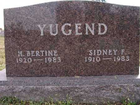 YUGEND, H. BERTINE - Warren County, Iowa | H. BERTINE YUGEND