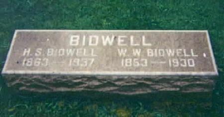 BIDWELL, H.S. - Washington County, Iowa | H.S. BIDWELL