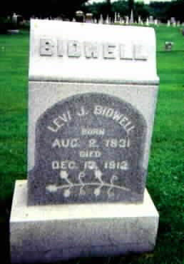 BIDWELL, LEVI J. - Washington County, Iowa | LEVI J. BIDWELL