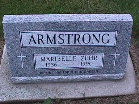ARMSTRONG, MARIBELLE - Washington County, Iowa | MARIBELLE ARMSTRONG