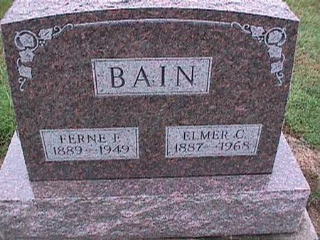 BAIN, ELMER - Washington County, Iowa | ELMER BAIN