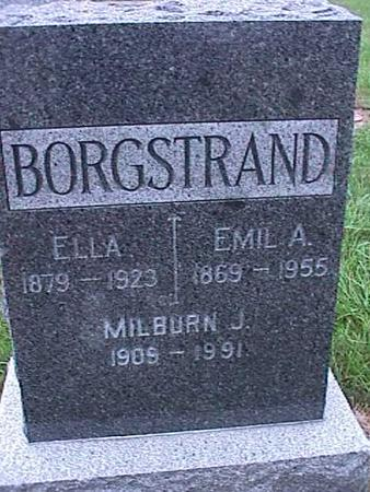 BORGSTRAND, EMIL - Washington County, Iowa | EMIL BORGSTRAND