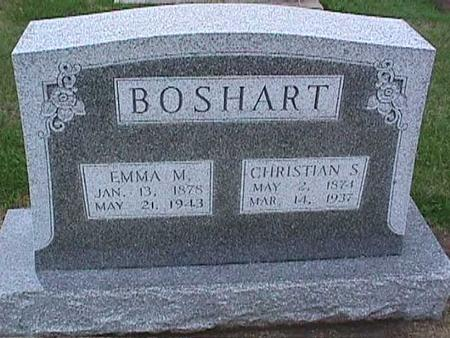 BOSHART, CHRISTIAN - Washington County, Iowa | CHRISTIAN BOSHART