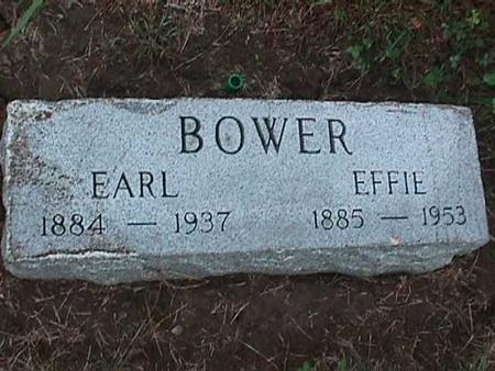 BOWER, EARL - Washington County, Iowa | EARL BOWER
