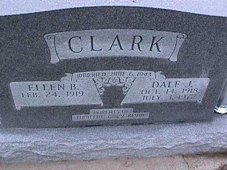 CLARK, ELLEN - Washington County, Iowa | ELLEN CLARK