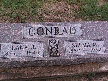 CONRAD, FRANK - Washington County, Iowa | FRANK CONRAD