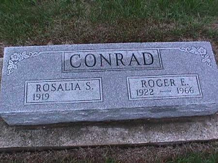 CONRAD, ROSALIA - Washington County, Iowa | ROSALIA CONRAD