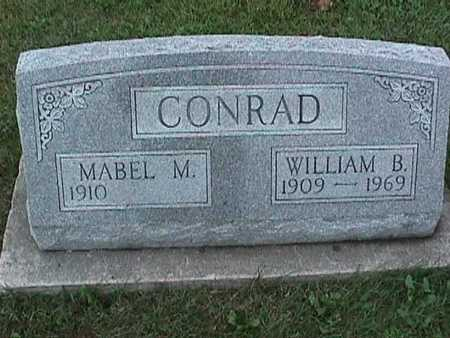 CONRAD, WILLIAM - Washington County, Iowa | WILLIAM CONRAD