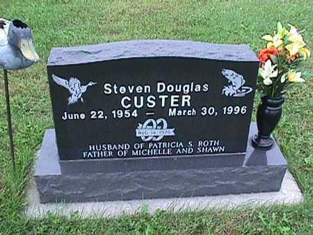 CUSTER, STEVEN DOUGLAS - Washington County, Iowa | STEVEN DOUGLAS CUSTER