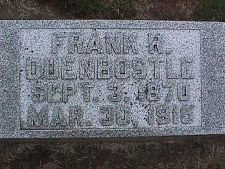 DUENBOSTLE, FRANK - Washington County, Iowa | FRANK DUENBOSTLE