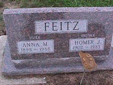 FEITZ, ANNA - Washington County, Iowa | ANNA FEITZ