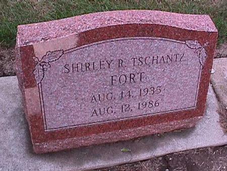TSCHANTZ FORT, SHIRLEY - Washington County, Iowa | SHIRLEY TSCHANTZ FORT
