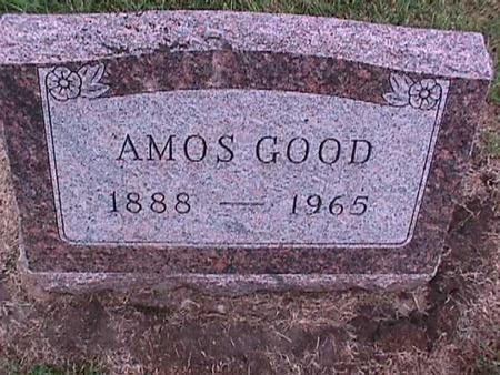 GOOD, AMOS - Washington County, Iowa | AMOS GOOD