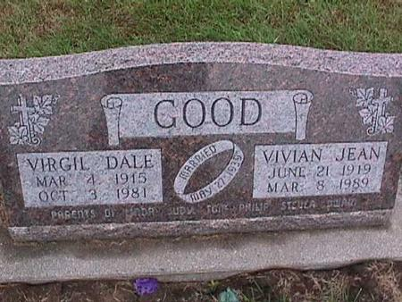 GOOD, VIVIAN - Washington County, Iowa | VIVIAN GOOD
