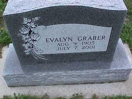 GRABER, EVALYN - Washington County, Iowa | EVALYN GRABER