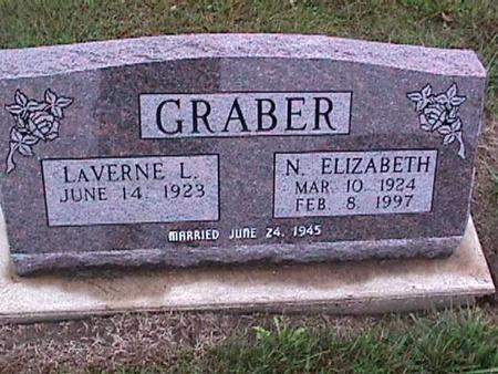 GRABER, NELLIE  ELIZABETH - Washington County, Iowa | NELLIE  ELIZABETH GRABER