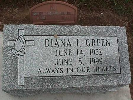 GREEN, DIANA I. - Washington County, Iowa | DIANA I. GREEN