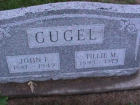 GUGEL, JOHN - Washington County, Iowa | JOHN GUGEL