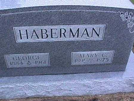 HABERMAN, MARY - Washington County, Iowa | MARY HABERMAN