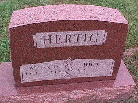 HERTIG, ALLEN - Washington County, Iowa | ALLEN HERTIG