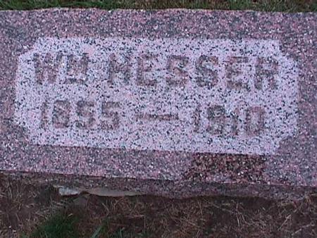 HESSER, WILLIAM - Washington County, Iowa | WILLIAM HESSER