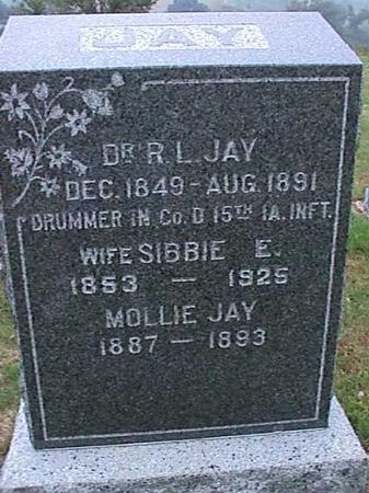 JAY, R. L. - Washington County, Iowa | R. L. JAY
