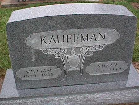 KAUFFMAN, WILLIAM - Washington County, Iowa | WILLIAM KAUFFMAN