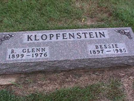 KLOPFENSTEIN, R. GLENN - Washington County, Iowa | R. GLENN KLOPFENSTEIN