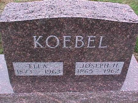 KOEBEL, JOSEPH - Washington County, Iowa | JOSEPH KOEBEL
