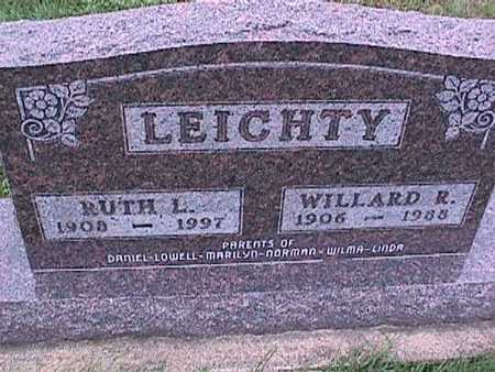 LEICHTY, RUTH - Washington County, Iowa | RUTH LEICHTY