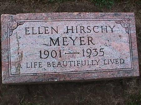 HIRSCHY MEYER, ELLEN - Washington County, Iowa | ELLEN HIRSCHY MEYER