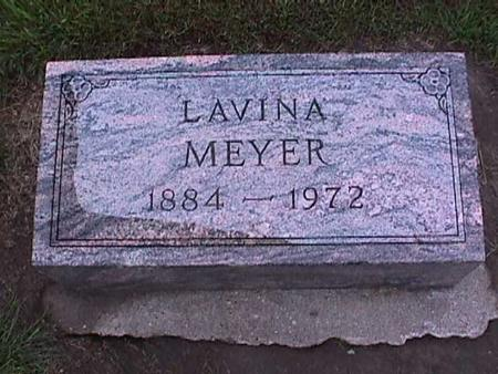 MEYER, LAVINA - Washington County, Iowa | LAVINA MEYER